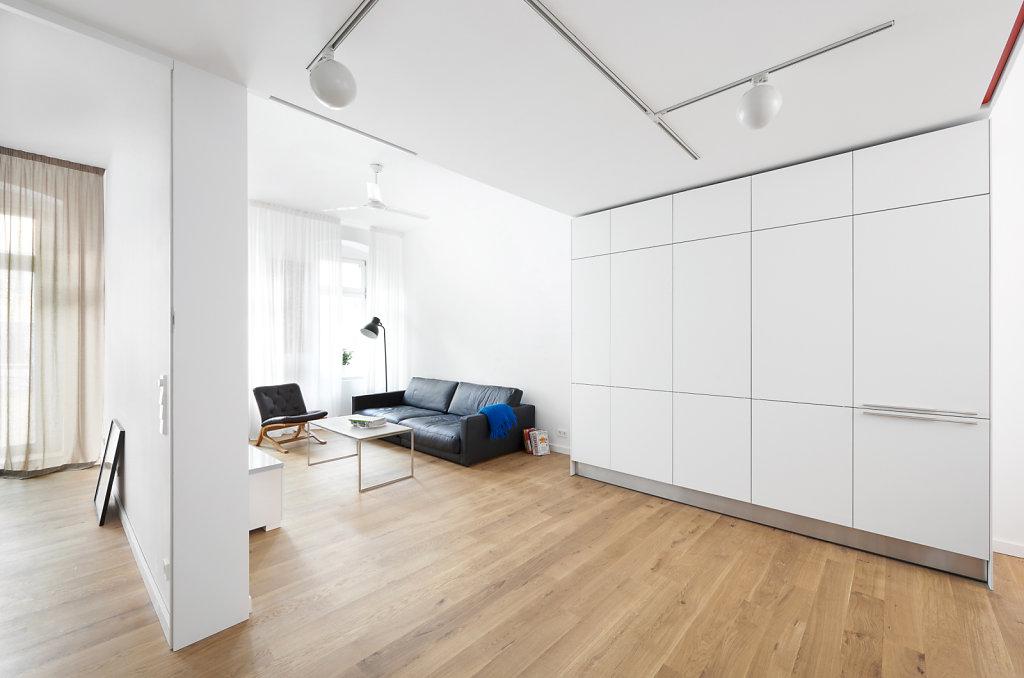 smal flat redevelopment